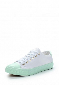 Кеды, Coura, цвет: белый. Артикул: CO048AWAWVR9. Обувь / Кроссовки и кеды / Кеды