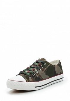 Кеды, Coura, цвет: хаки. Артикул: CO048AWAWVT2. Обувь / Кроссовки и кеды / Кеды