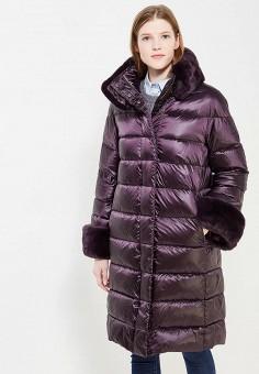 Пуховик, Conso Wear, цвет: фиолетовый. Артикул: CO050EWYPE91. Одежда / Верхняя одежда