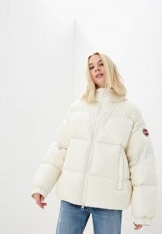 Пуховик, Colmar, цвет: белый. Артикул: CO070EWCIRB4. Premium / Одежда / Верхняя одежда / Зимние куртки
