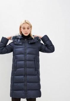 Пуховик, Colmar, цвет: синий. Артикул: CO070EWCIRC3. Premium / Одежда / Верхняя одежда / Зимние куртки