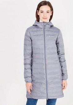 Пуховик, Columbia, цвет: серый. Артикул: CO214EWWIC00. Одежда / Верхняя одежда