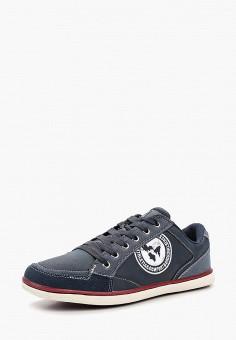 Кеды, Crosby, цвет: синий. Артикул: CR004AMAPSZ1. Обувь / Кроссовки и кеды / Кеды