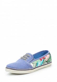 Кеды, Crosby, цвет: синий. Артикул: CR004AWQCD02. Обувь / Кроссовки и кеды / Кеды