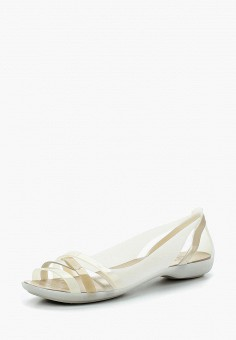 Сандалии, Crocs, цвет: белый. Артикул: CR014AWARRG8. Обувь / Сандалии