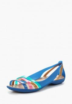 Сандалии, Crocs, цвет: синий. Артикул: CR014AWARRG9. Обувь