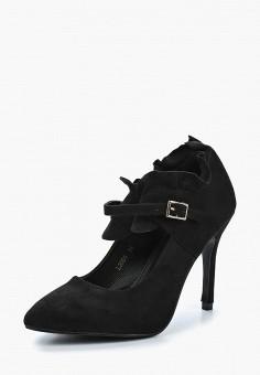 Туфли, Damerose, цвет: черный. Артикул: DA016AWAWKG5. Обувь / Туфли / Закрытые туфли