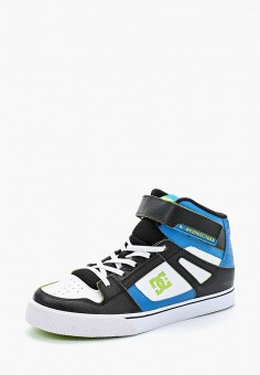 Кеды, DC Shoes, цвет: мультиколор. Артикул: DC329ABAKBE9. Мальчикам / Обувь