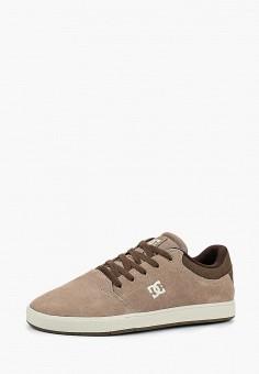 Кеды, DC Shoes, цвет: бежевый. Артикул: DC329AMCFER3. Обувь / Кроссовки и кеды / Кеды