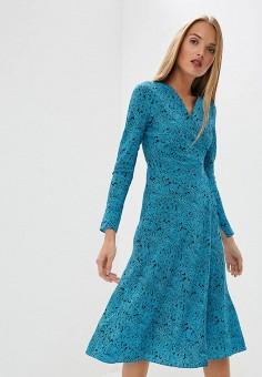 Платье, Diane von Furstenberg, цвет: синий. Артикул: DI001EWBSVL2. Одежда / Платья и сарафаны