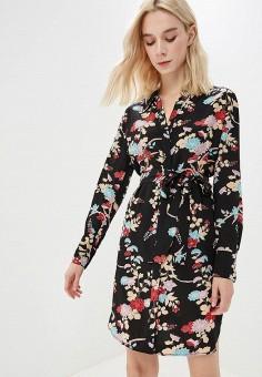 Платье, Diane von Furstenberg, цвет: черный. Артикул: DI001EWBSVL5. Одежда / Платья и сарафаны