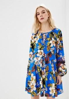 Платье, Diane von Furstenberg, цвет: синий. Артикул: DI001EWBSVL7. Одежда / Платья и сарафаны