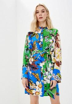 Платье, Diane von Furstenberg, цвет: мультиколор. Артикул: DI001EWBSVL8. Одежда / Платья и сарафаны