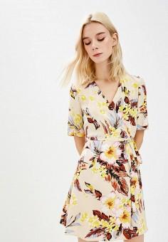 Платье, Diane von Furstenberg, цвет: бежевый. Артикул: DI001EWBSVL9. Одежда / Платья и сарафаны