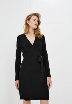 Платье, Diane von Furstenberg, цвет: черный. Артикул: DI001EWBSVO6. Одежда / Платья и сарафаны