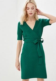 Платье, Diane von Furstenberg, цвет: зеленый. Артикул: DI001EWBSVP4. Одежда / Платья и сарафаны