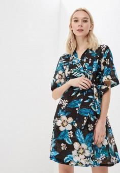Платье, Diane von Furstenberg, цвет: черный. Артикул: DI001EWBSVP8. Одежда / Платья и сарафаны