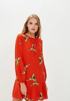 Платье, Diane von Furstenberg, цвет: красный. Артикул: DI001EWBSVT0. Одежда / Платья и сарафаны