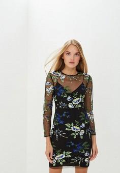 Платье, Diane von Furstenberg, цвет: черный. Артикул: DI001EWBSVT6. Одежда / Платья и сарафаны