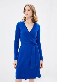 Платье, Diane von Furstenberg, цвет: синий. Артикул: DI001EWBSVT7. Одежда / Платья и сарафаны