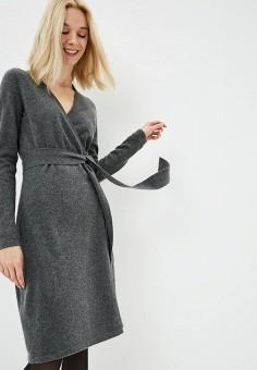 Платье, Diane von Furstenberg, цвет: серый. Артикул: DI001EWBSVT8. Одежда / Платья и сарафаны