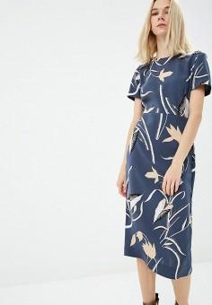 Платье, Diane von Furstenberg, цвет: синий. Артикул: DI001EWBSWE4. Одежда / Платья и сарафаны