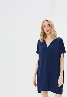 Платье, Diane von Furstenberg, цвет: синий. Артикул: DI001EWBSWG9. Одежда / Платья и сарафаны