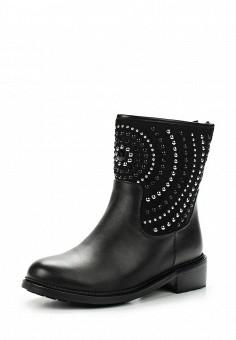 Полусапоги, Dino Ricci Trend, цвет: черный. Артикул: DI029AWWBX30. Обувь / Сапоги