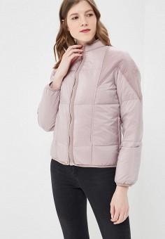 Пуховик, Diesel, цвет: розовый. Артикул: DI303EWASVG2. Одежда / Верхняя одежда / Пуховики и зимние куртки