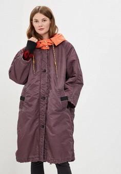 Парка, Diesel, цвет: фиолетовый. Артикул: DI303EWBVFK2. Одежда / Верхняя одежда / Демисезонные куртки
