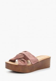 Сабо, Dorothy Perkins, цвет: розовый. Артикул: DO005AWAJEH7. Обувь