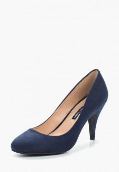 Туфли, Dorothy Perkins, цвет: синий. Артикул: DO005AWAMMH6. Обувь / Туфли / Закрытые туфли