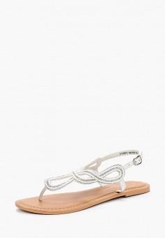 Сандалии, Dorothy Perkins, цвет: белый. Артикул: DO005AWBLXL4. Обувь / Сандалии