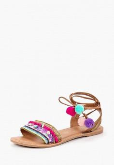Сандалии, Dorothy Perkins, цвет: мультиколор. Артикул: DO005AWBTNW5. Обувь / Сандалии