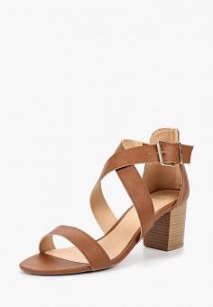 Босоножки, Dorothy Perkins, цвет: коричневый. Артикул: DO005AWBVPO4. Обувь / Босоножки