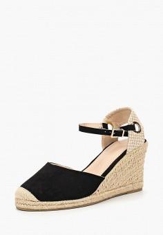 Эспадрильи, Dorothy Perkins, цвет: черный. Артикул: DO005AWBVPO6. Обувь