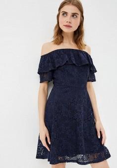 Платье, Dorothy Perkins, цвет: синий. Артикул: DO005EWASFW8. Одежда