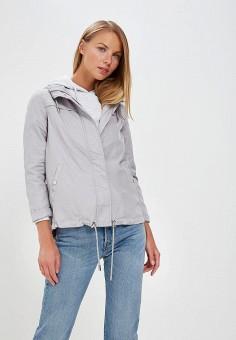 Ветровка, Dorothy Perkins, цвет: серый. Артикул: DO005EWATJT8. Одежда / Верхняя одежда / Легкие куртки и ветровки