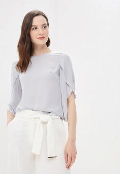 Блуза, Dorothy Perkins, цвет: серый. Артикул: DO005EWBJRZ0. Одежда