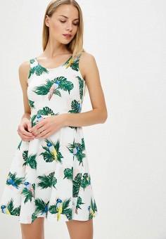 Платье, Dorothy Perkins, цвет: белый. Артикул: DO005EWBVPR4. Одежда / Платья и сарафаны