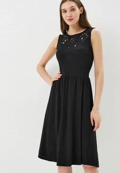 Платье, Dorothy Perkins, цвет: черный. Артикул: DO005EWBYYT0. Одежда / Платья и сарафаны