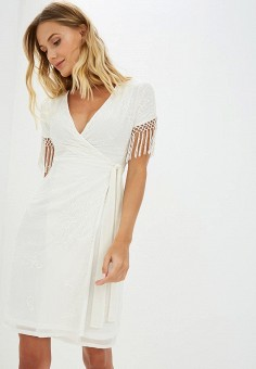 Платье, Dorothy Perkins, цвет: белый. Артикул: DO005EWCGPZ1. Одежда / Платья и сарафаны