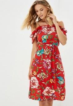 Платье, Dorothy Perkins, цвет: красный. Артикул: DO005EWCGQE7. Одежда / Платья и сарафаны