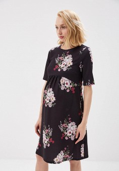 Платье, Dorothy Perkins Maternity, цвет: черный. Артикул: DO028EWAQKZ3. Dorothy Perkins Maternity