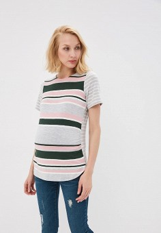 Футболка, Dorothy Perkins Maternity, цвет: серый. Артикул: DO028EWAQKZ8. Dorothy Perkins Maternity