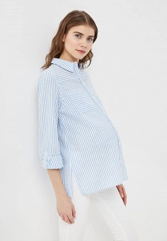 Рубашка, Dorothy Perkins Maternity, цвет: голубой. Артикул: DO028EWARWQ5. Dorothy Perkins Maternity
