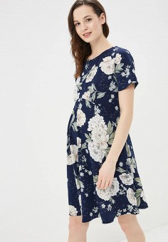 Платье, Dorothy Perkins Maternity, цвет: синий. Артикул: DO028EWAVTL9. Dorothy Perkins Maternity