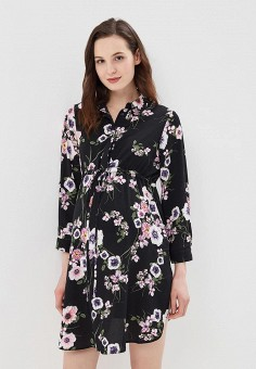 Туника, Dorothy Perkins Maternity, цвет: черный. Артикул: DO028EWAZVE8. Dorothy Perkins Maternity