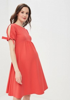 Платье, Dorothy Perkins Maternity, цвет: коралловый. Артикул: DO028EWBGYZ1. Dorothy Perkins Maternity