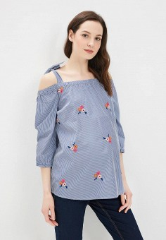 Блуза, Dorothy Perkins Maternity, цвет: синий. Артикул: DO028EWBJRT6. Dorothy Perkins Maternity